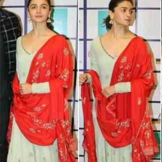 Indian Wear Spiffy Alia Nova Anarkali Semi Stitched Suit-MINIAB279