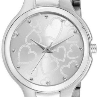 Uncommon silver Color metal Belt Ladies Watch