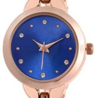 Unbelievable rose gold Color metal Belt Womens Watch