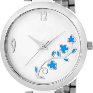 Thrilling white Color metal Belt Womens Watch