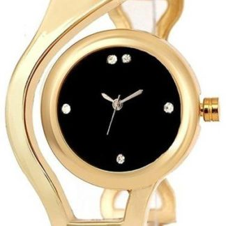 Amazing gold Color metal Belt Girls Watch