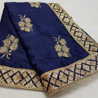 Womens Wear Entrancing Royal Blue Colored silk sarees online onlineshopping store in India